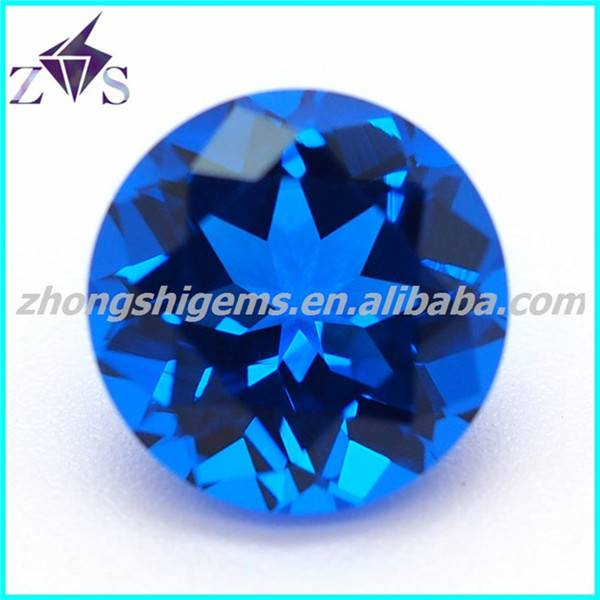 Wuzhou New Products Price Nano Blue Spinel