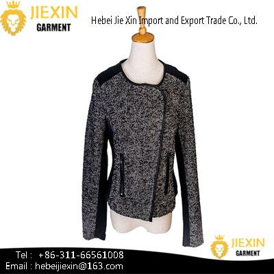 Fashionable Design Women's Wool Coat