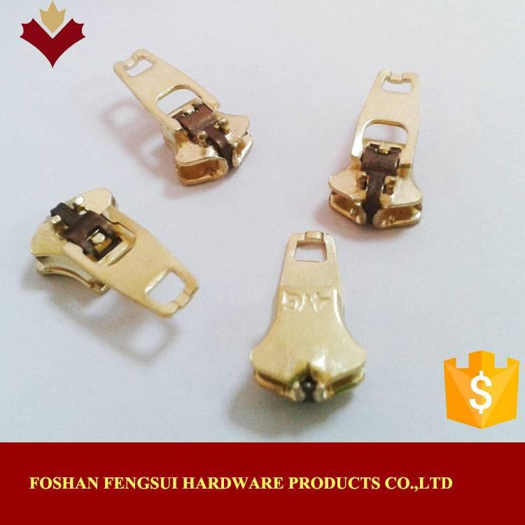 Sell foshan metal double lock zip sliders