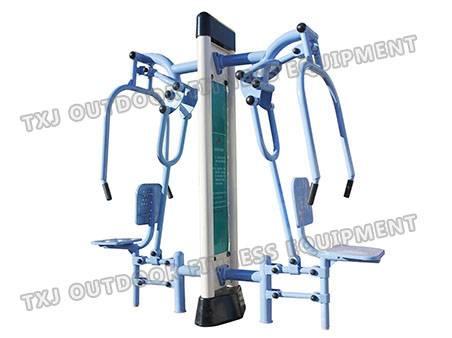 Outdoor strength training equipment