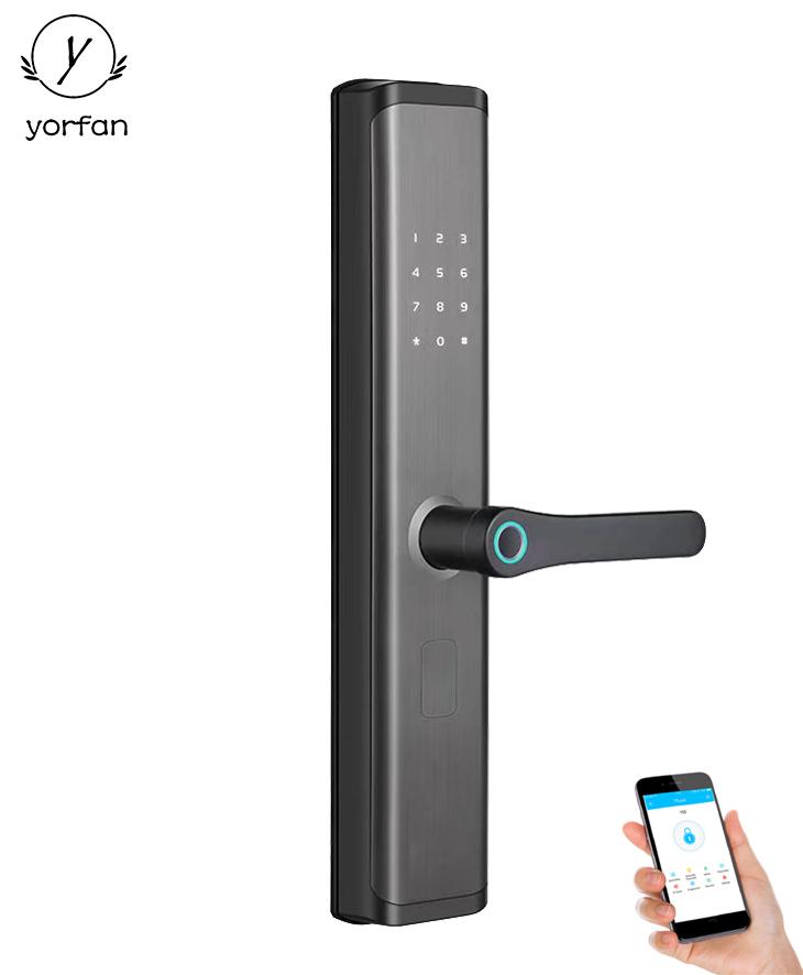 Multipoint Fingerprint Bluetooth Wifi Door Lock YFBF-B01