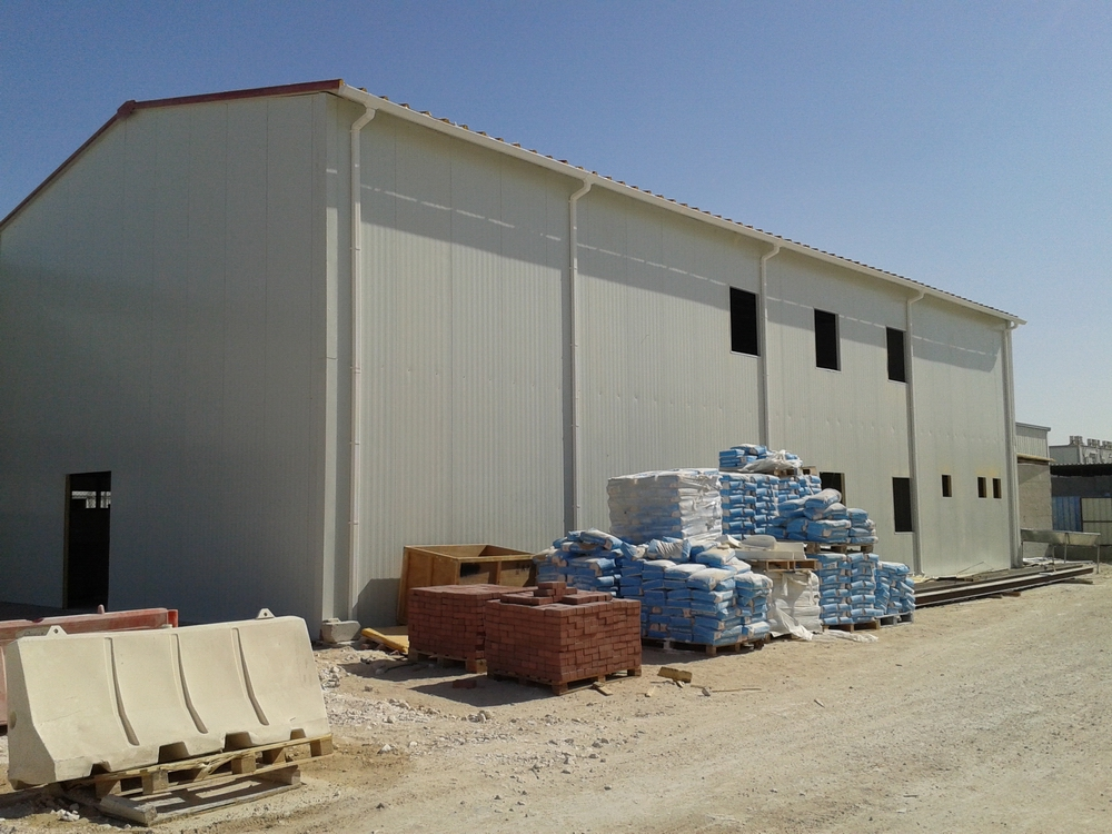Prefabricated House for Camp Facilities