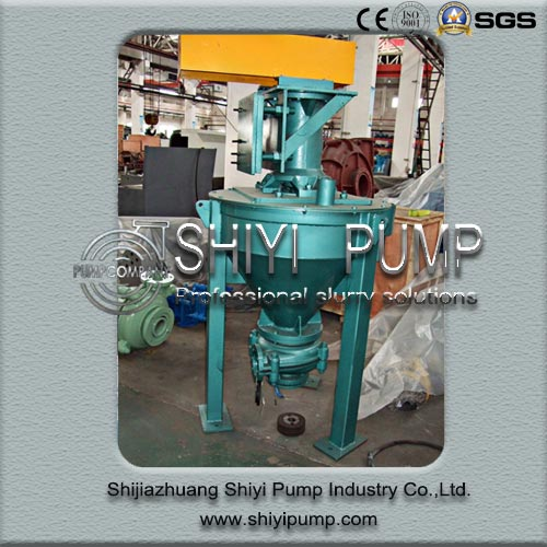 Abrasion Resistant Wasting Water Treatment Centrifugal Vertical Foam Pump