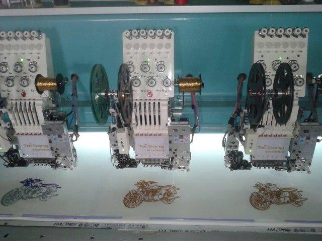 Tai Sang embroidery machine excellence model 615