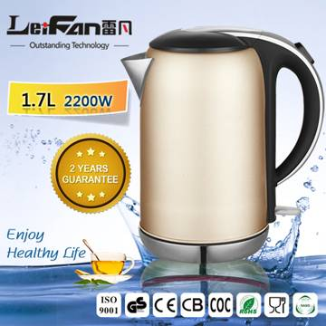 Automatically lid open portable electric kettle
