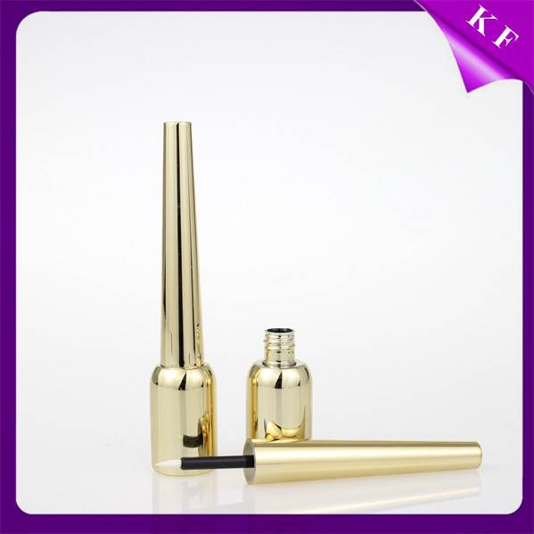 Shantou Kaifeng Special Luxury Shiny Gold Empty Eyeliner Tube CL-2171