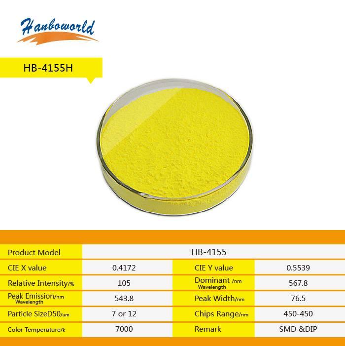 YAG yellow LED fluorescent powder for white light