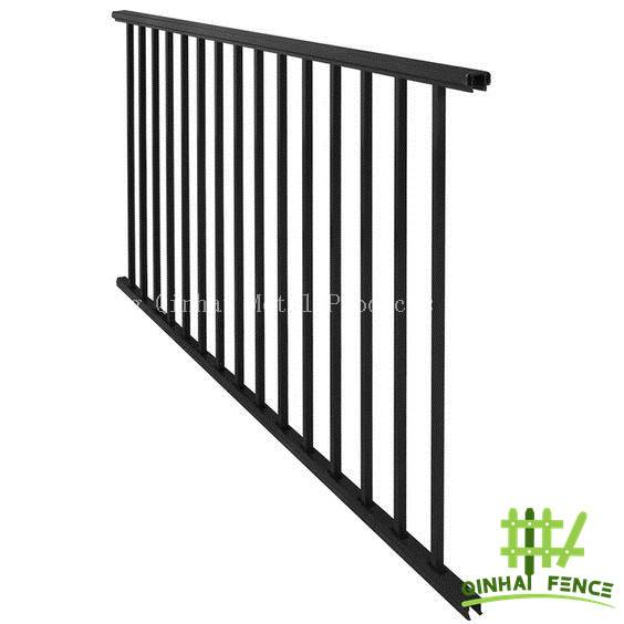 Flat Top Fence and pMetal Picket Fencing Supplier
