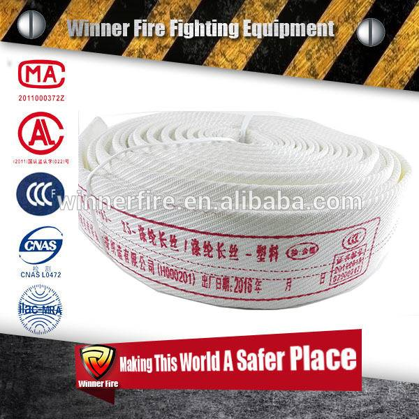 Fexible Hot sale twill Vehicle Fire Hose with high working pressure