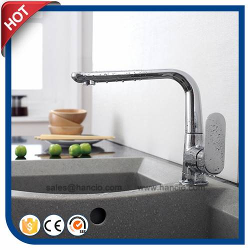 Popular Brass Single Handle Kitchen Faucet (HC11503)