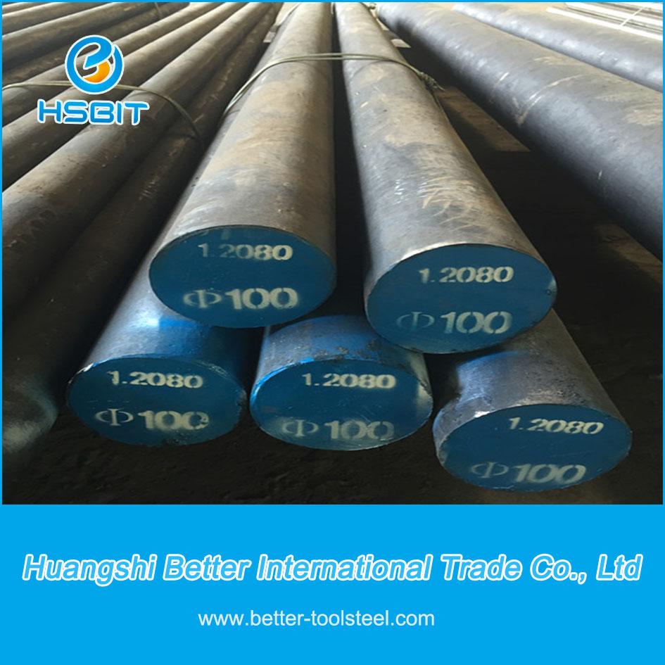 1.2080 Tool Steel, Mould Steel 1.2080/D3