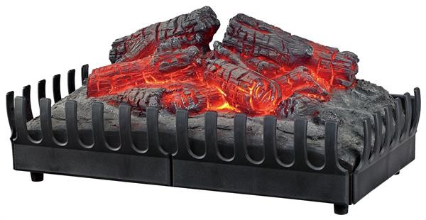 Cheap Decorative Electric Fireplace Resin Log Insert Fake Flame Glowing LJIF1802