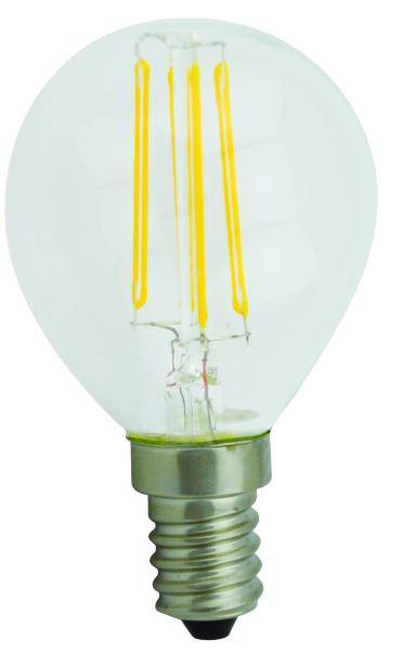 G45 2W/3W/4W Dimmable Cob Led Filament Candle Bulb Light