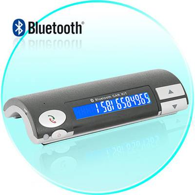 Bluetooth Hands-free Speaker Car Kit For Mobile phone IPHONE 4 S 4G 4GS 4S