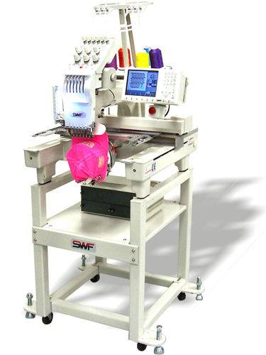 SWF 601C Compact Embroidery Machine E-Series Commercial Embroidery Equipment