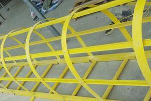frp grp safety ladder handrail systems