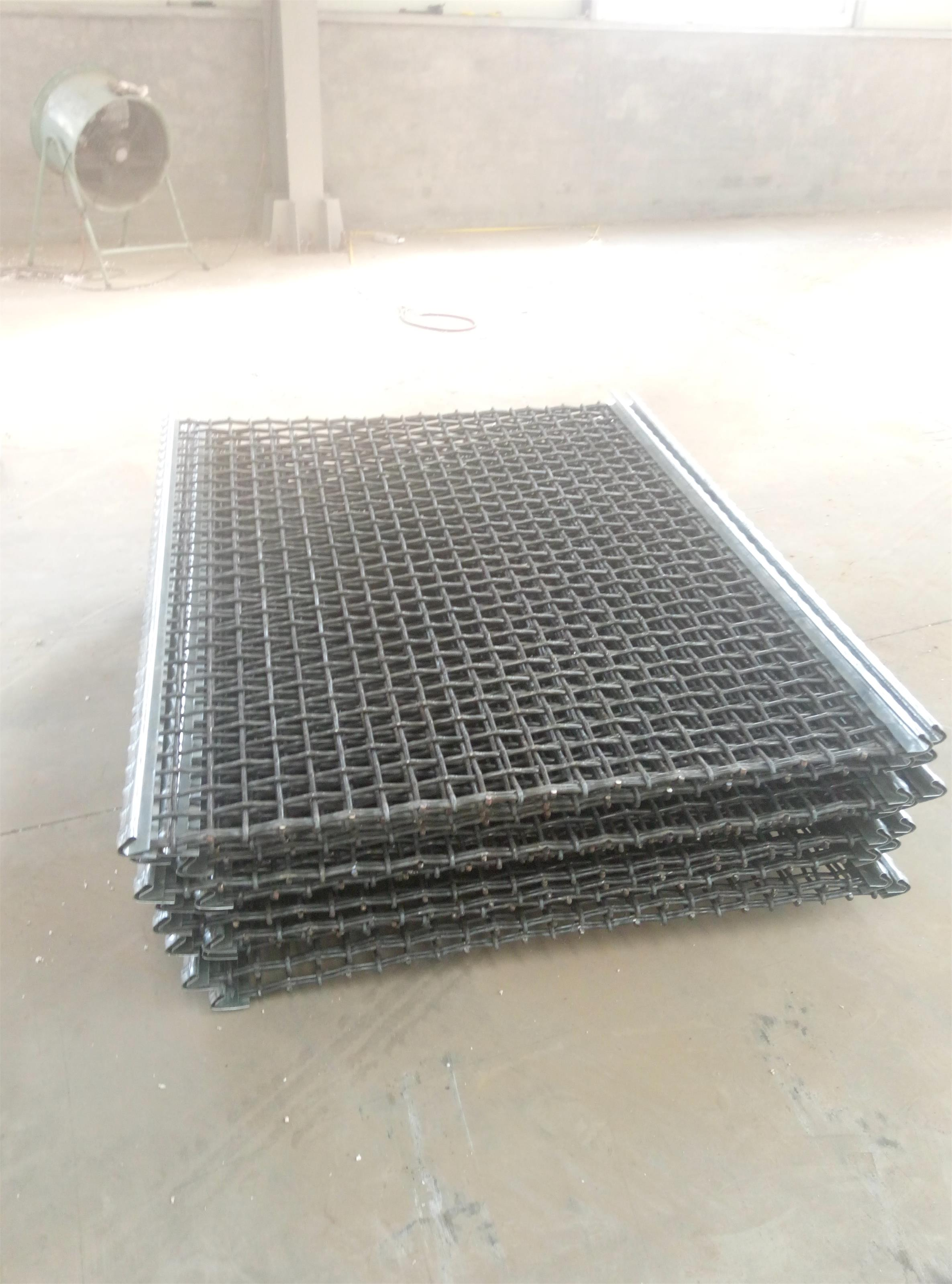 stone crusher screen netting / woven wire mesh screen Anping ...