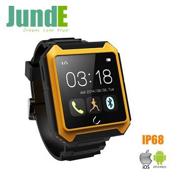 Rugged watch,three proofings smart watch for phone