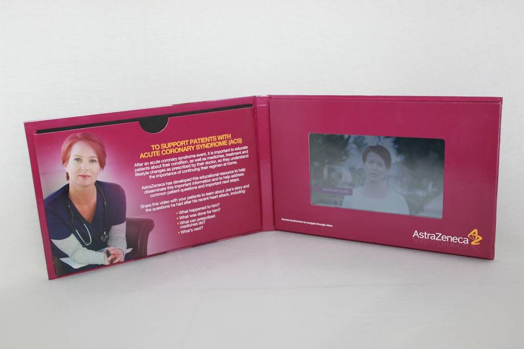 7 inch video in print with hight quanlity and resonable price