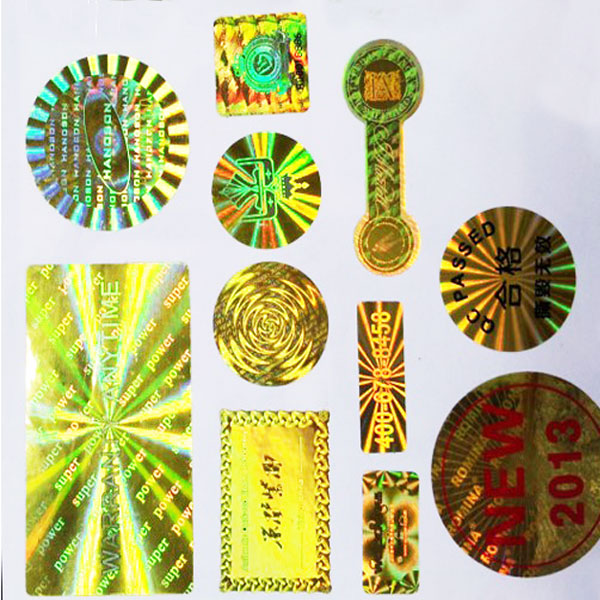 OEM factory supply hologram stickers
