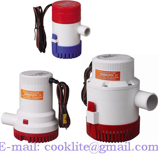 Electric Submersible Bilge Pump / Marine Bilge Water Pump