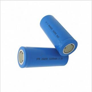 Cylindrical LiFePO4 battery 14500,18650,26650,32650