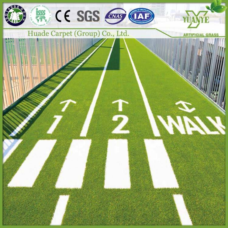 2016 new PP+PE material artificial turf for football