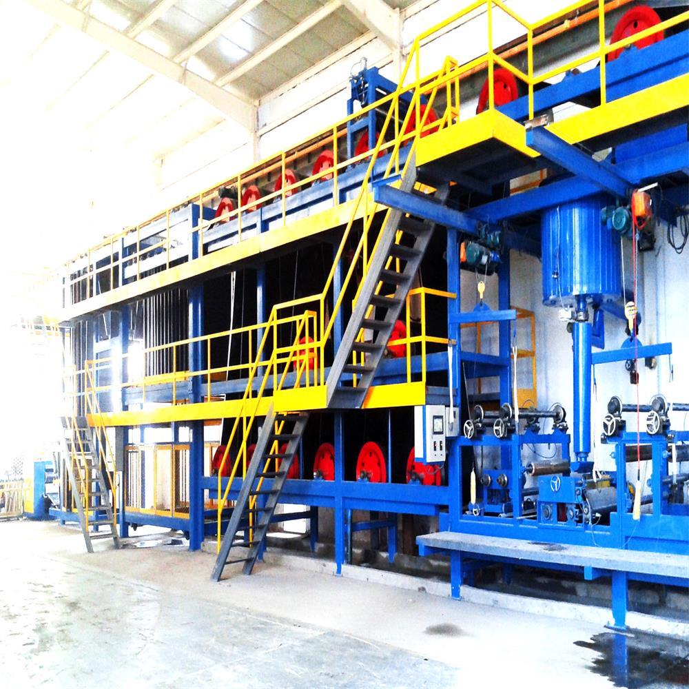 Complete adhesive asphalt waterproof membrane plant