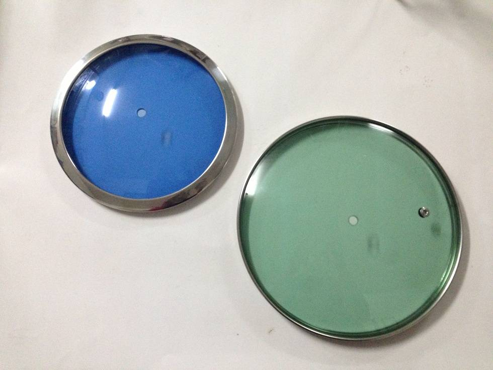 High quality tempered glass lid
