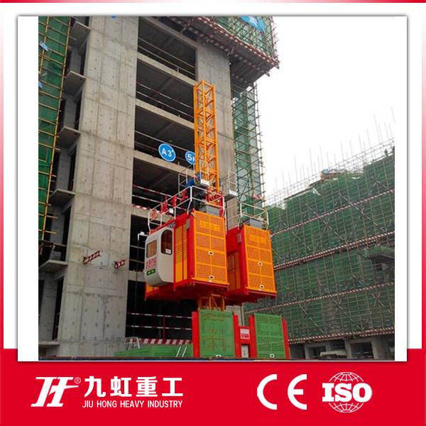 Speed 36m/min Construction hoist