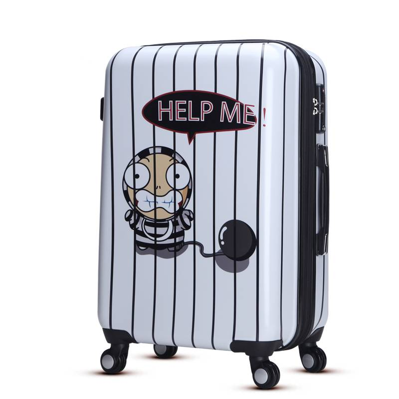 Light weight abs luggage for lady
