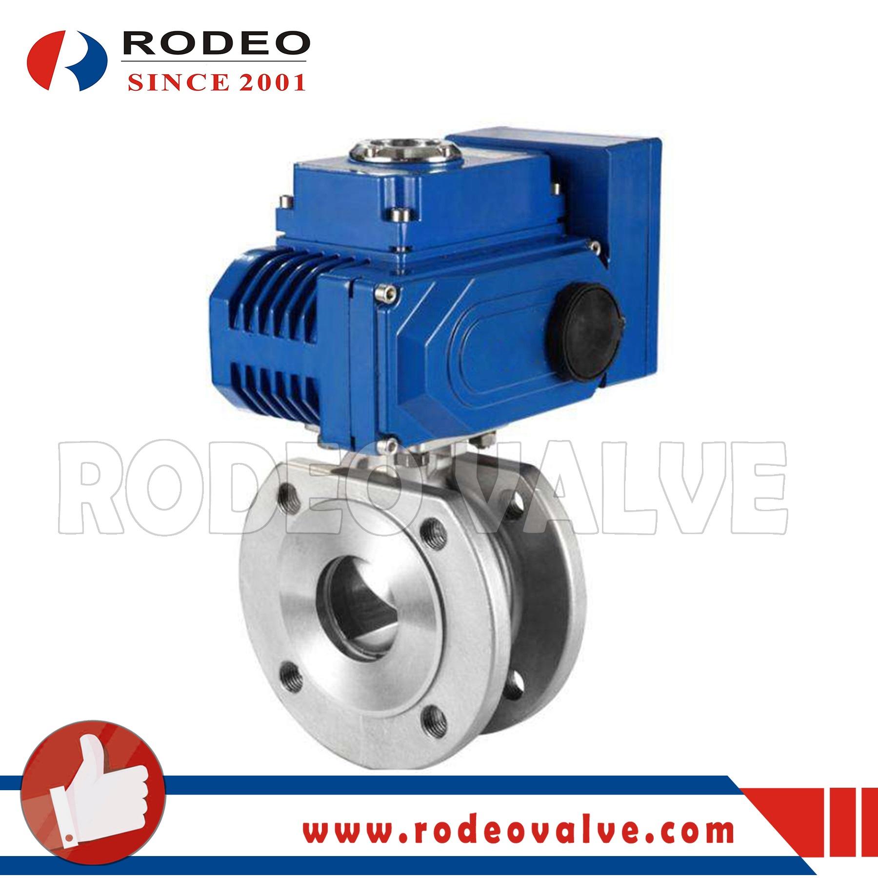 Electric Italian ball valve