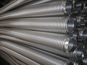 Stainless steel corrugated flexible metal hose
