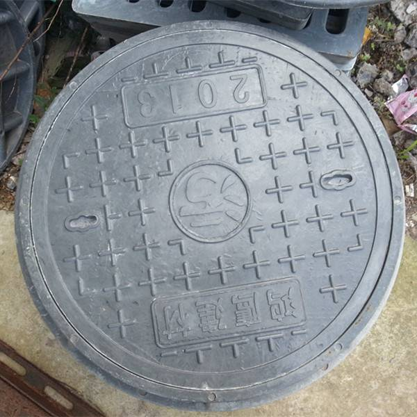 round smc manhole cover