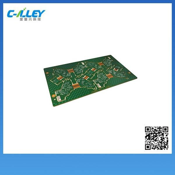 8 Layers Rigid-flex PCB for Industry Instrument Application