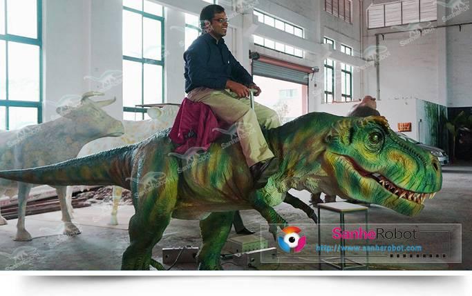 kiddie entertainment dinosaur rides