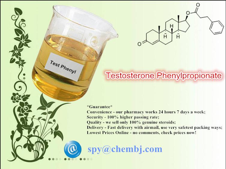 Testosterone Phenylpropionate; Test Phenylpropionate (CAS 1255-49-8)