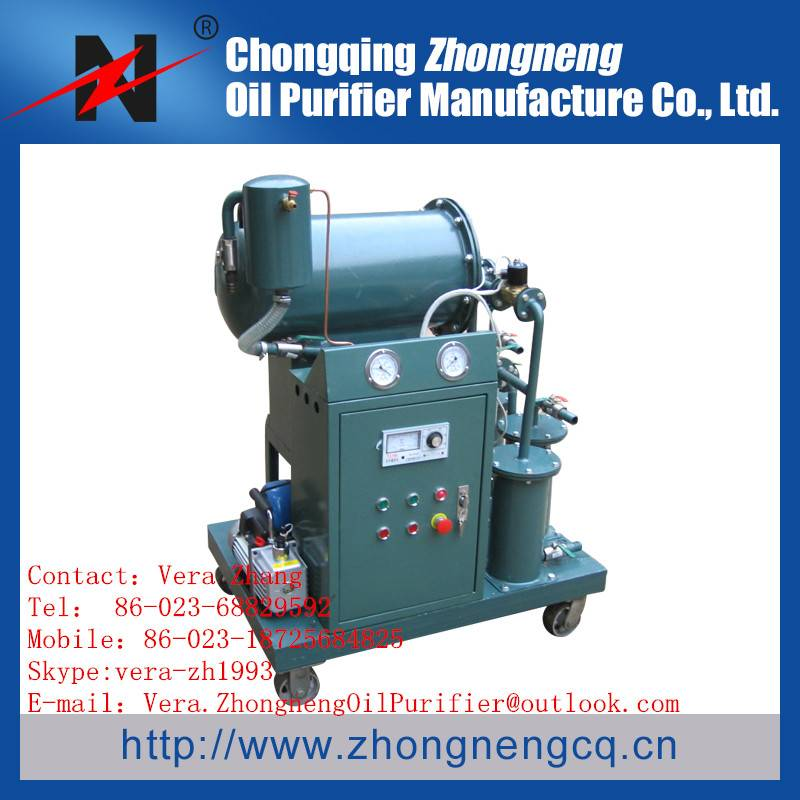 Series TYB Coalesce and Separator oil purification/ Fuel oil filtering machine