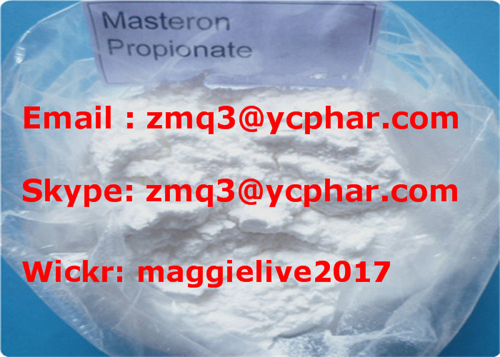 Top Purity Steroid Powder Masteron Drostanolone Propionate CAS 521-12-0 for Fat Loss Musle Strength