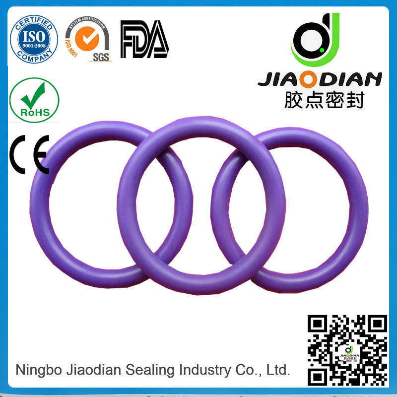 Purple Viton O Rings Mechanical Seals with SGS RoHS FDA Certificates As568-JIS2401-ISO3601 (O-RINGS-