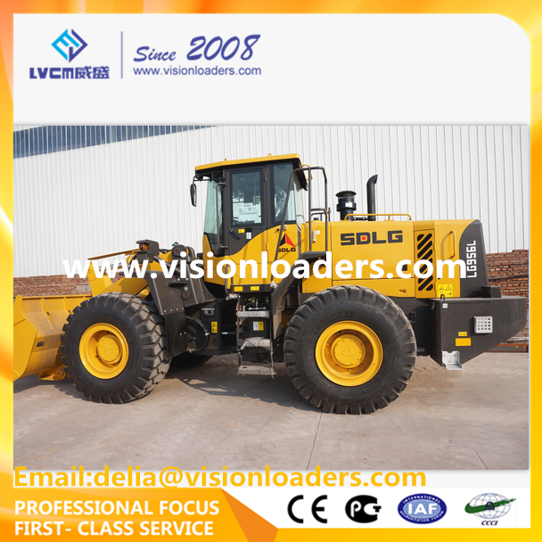 Hot Sale 5T SDLG LG956L Shovel loader LG956L Wheel loader for sale