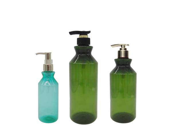 pet pump bottle skin care packaging