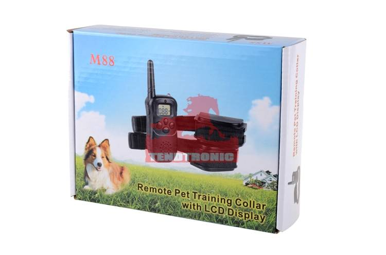 M88 pet training collar dog trainnig  pets electronic smart remote collar