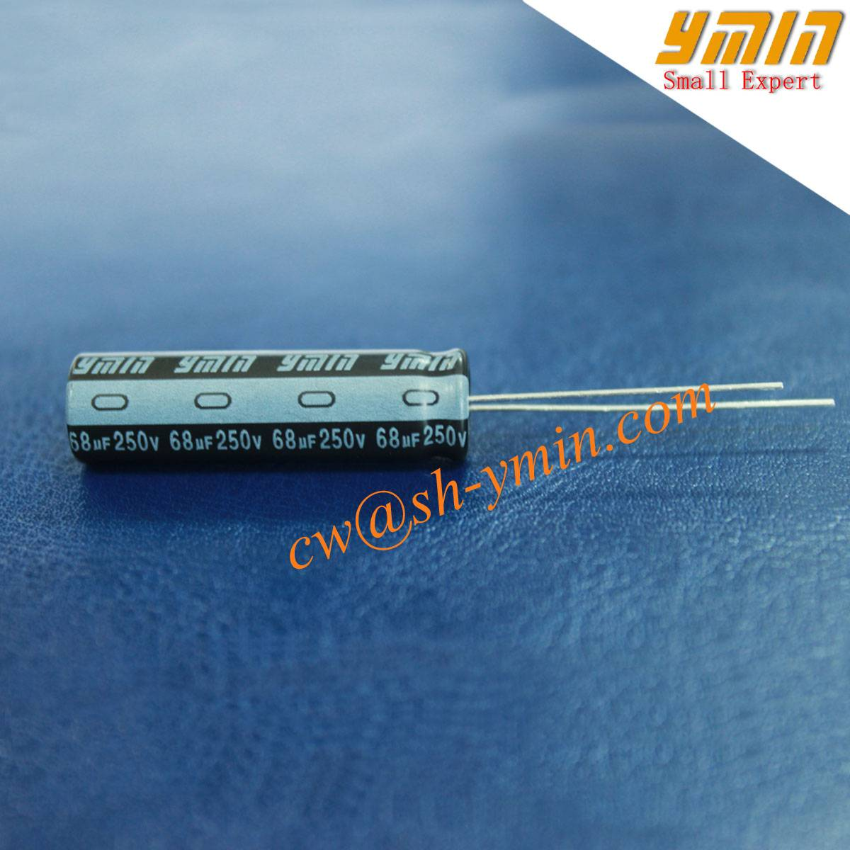 68uF 250V Capacitor Radial Aluminum Electrolytic Capacitor for General Purpose