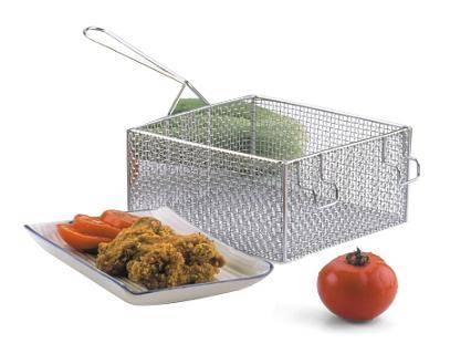 Wire Mesh Fryer Basket (stainless steel or nickel plated)