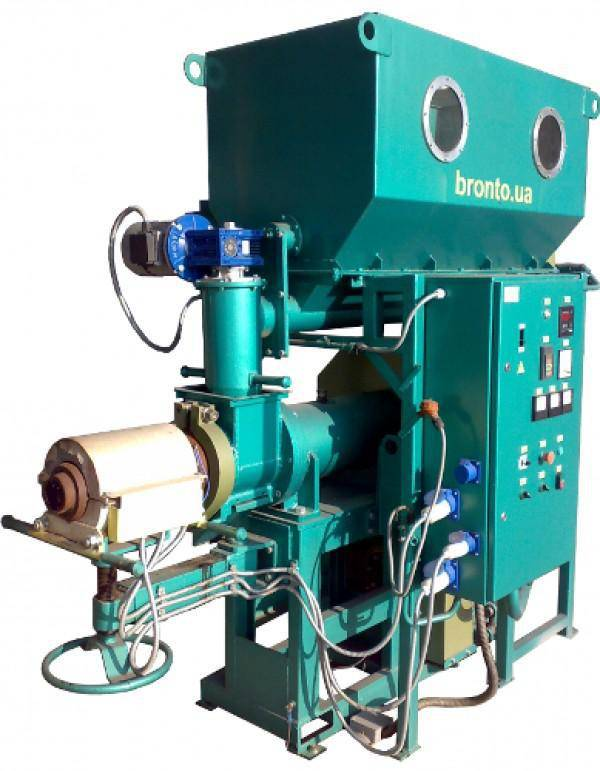 SCREW PRESSING LINE FOR PINI-KAY BRIQUETTES PRODUCTION