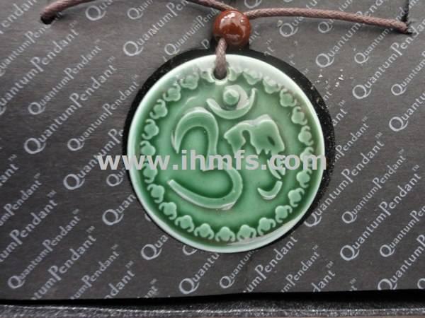 health,fashion,unique ,Lava energy , far infrared,coloured glaze transparent pendant