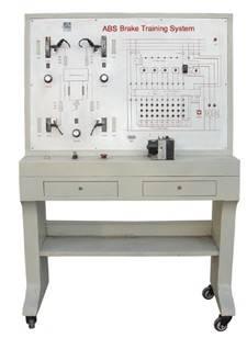 ABS Braking System Demonstration Board Education Equipment ZA2108