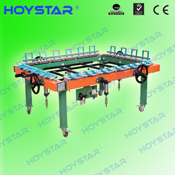 silk screen stretching machine