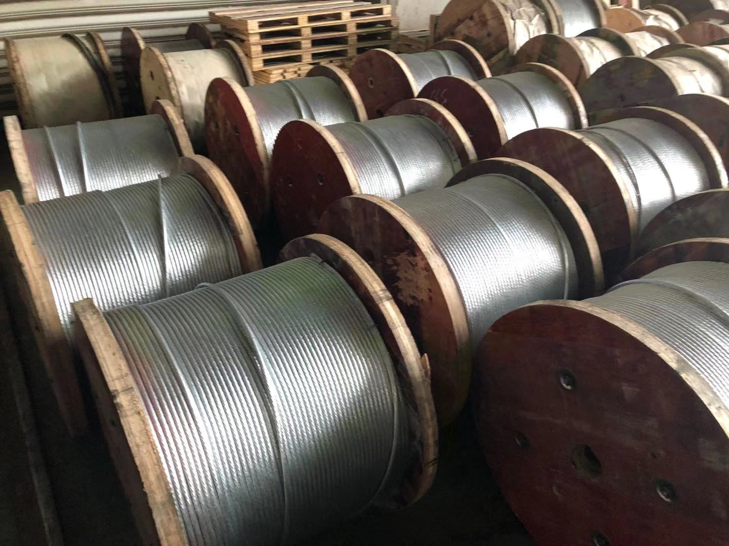 galvanized steel wire/strand for fiber optical cable